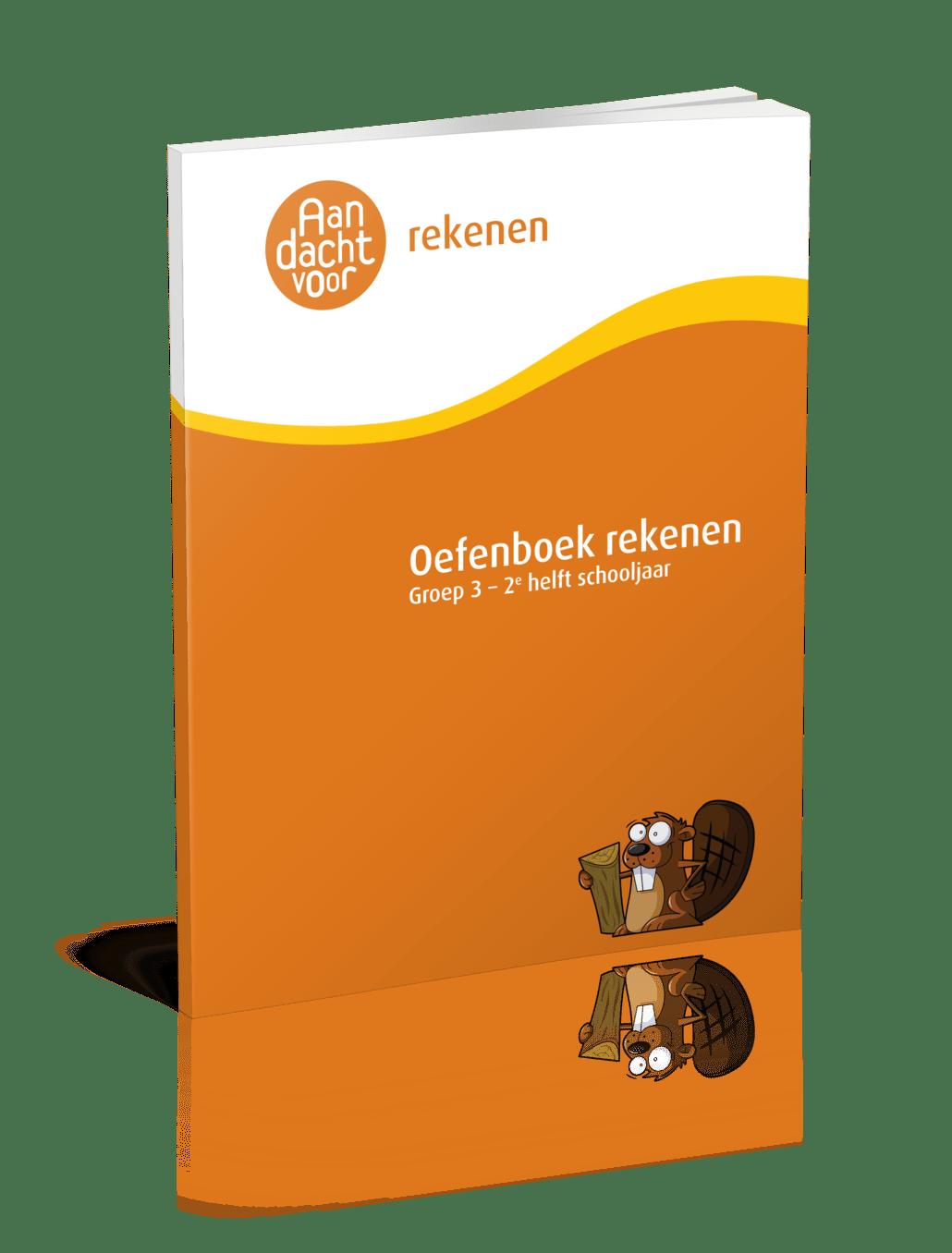 Oefenboek rekenen groep 3 2e helft schooljaar