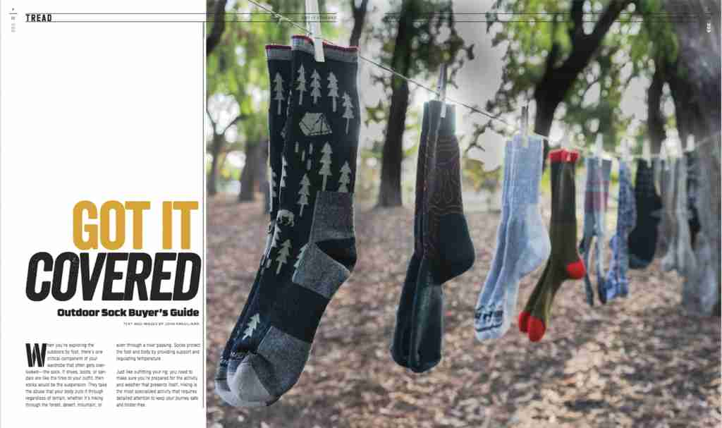 Tread - Got It Covered, Outdoor Sock Buyers Guide