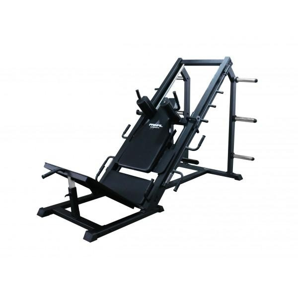Dual 45 Degree Leg Press and Hack Squat