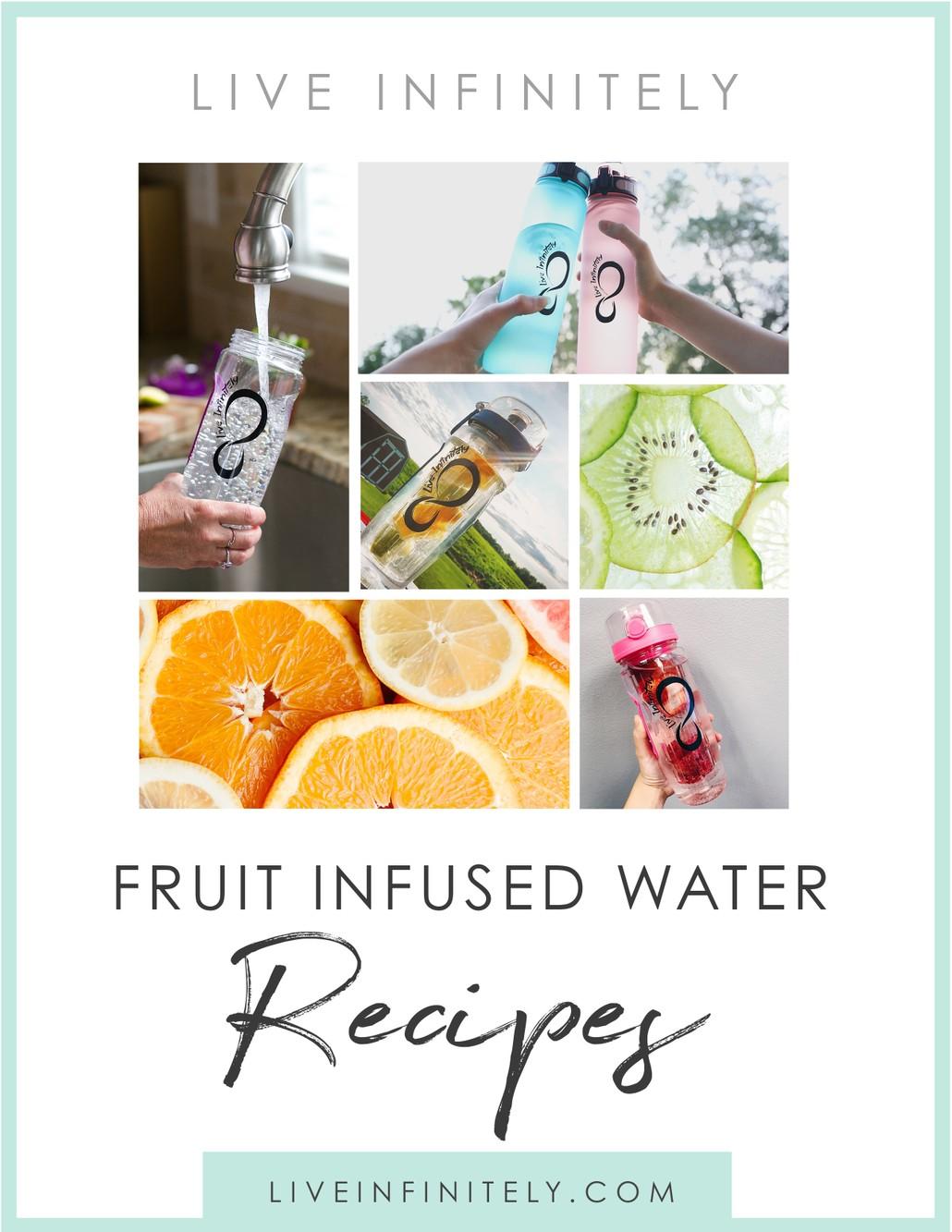 Fruit Infused Water Recipe eBook