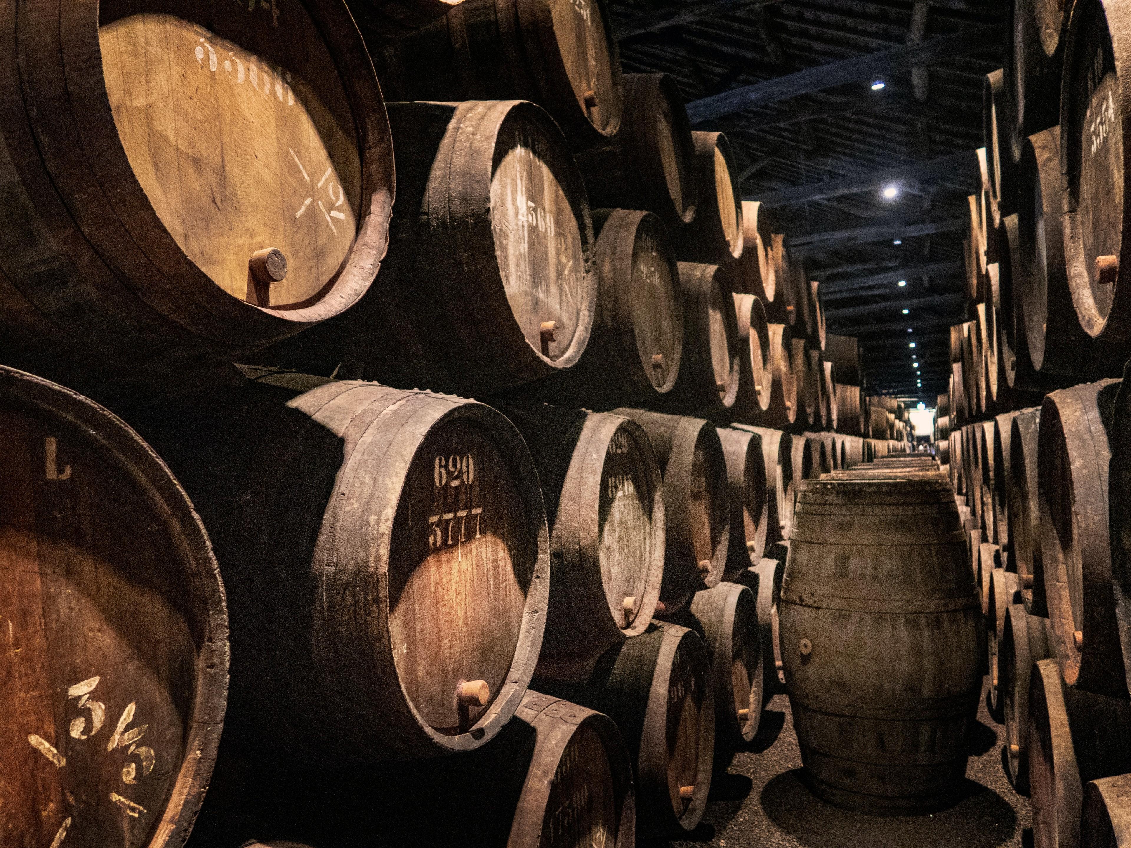 Wine Barrel vs whiskey barrel
