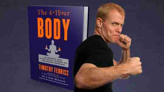 Timothy Tim Ferriss Ferris The 4-Hour Body Fit Man with Fists Up