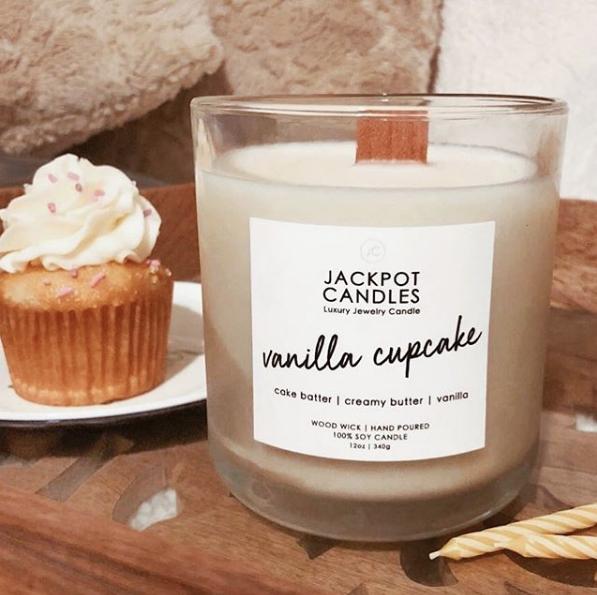 vanilla candle