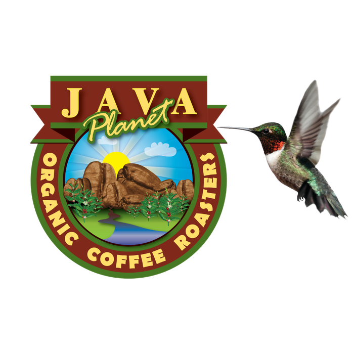 Java Planet Organic Coffee Hummingbird