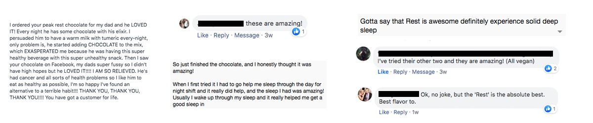 Heres' what some of our friends have to say about Peak Rest!