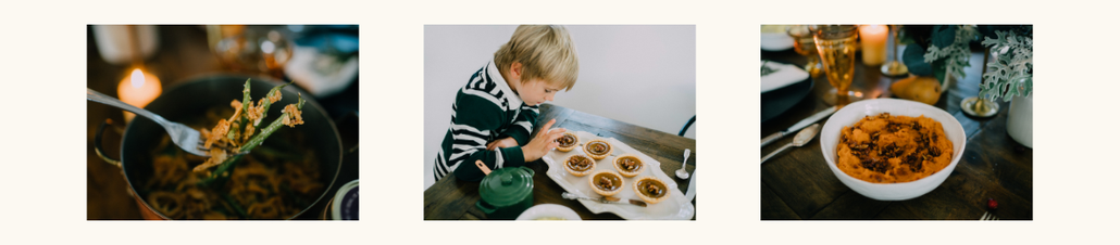 Thanksgiving dishes using FOND bone broth