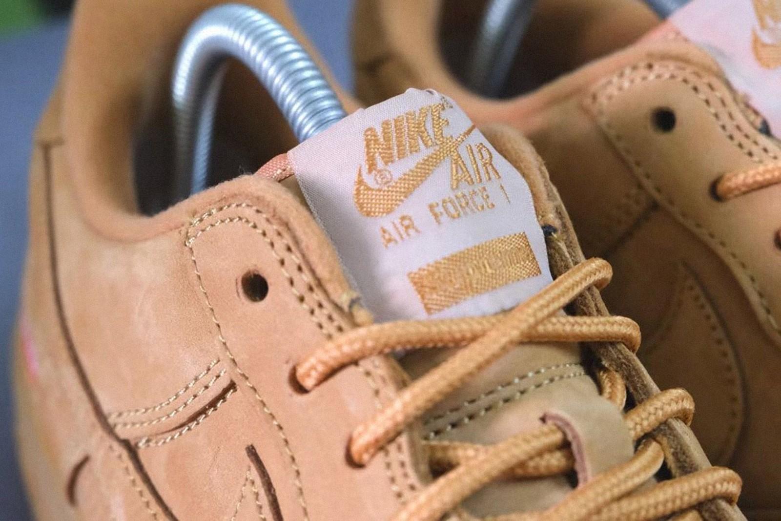 Supreme x Nike Air Force 1 Wheat