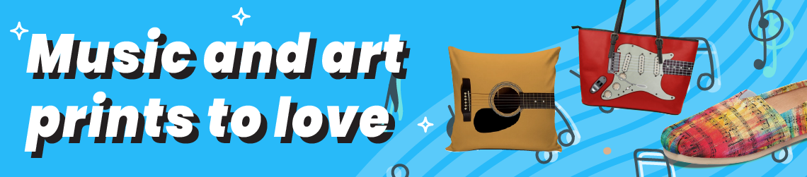 Music and art prints to love