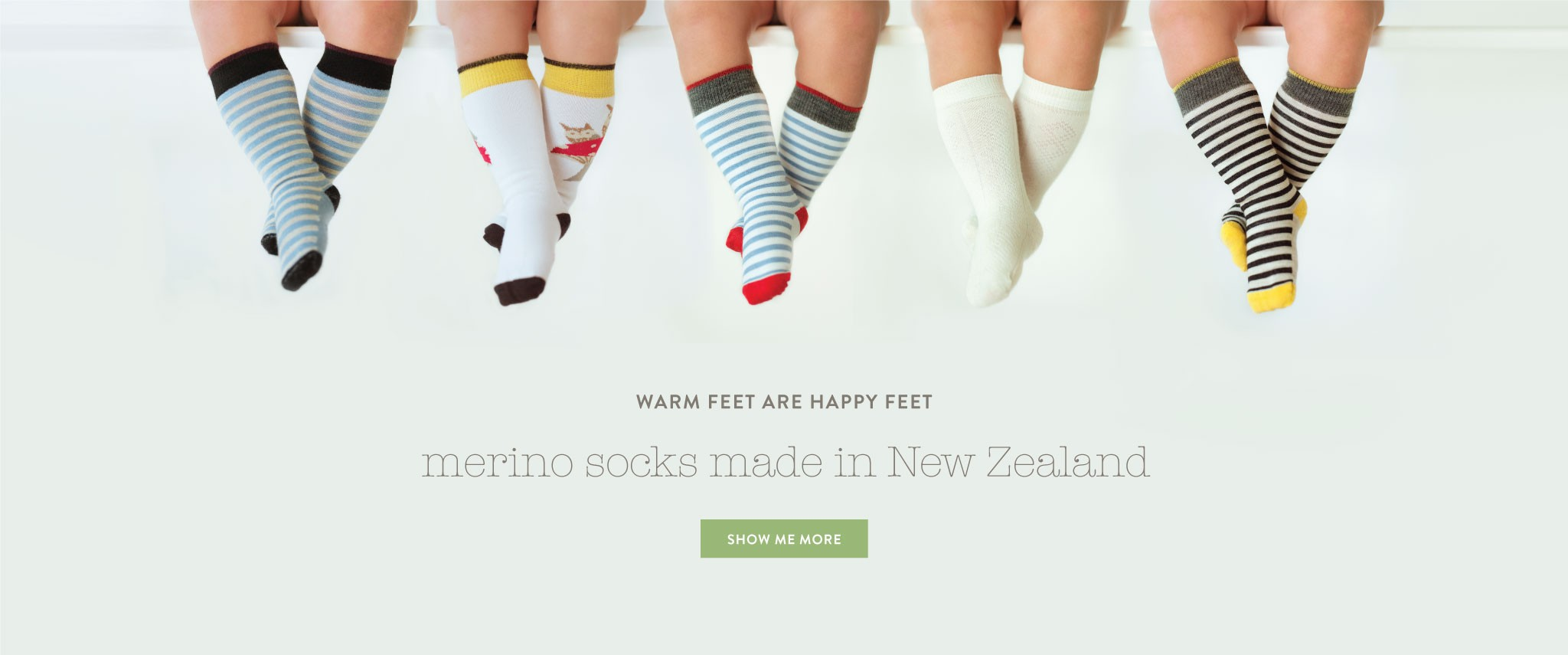 merino socks for babies and children - merino socks made in nz