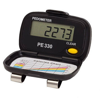 PE-330 Tri-Axis Pocket Step Pedometer