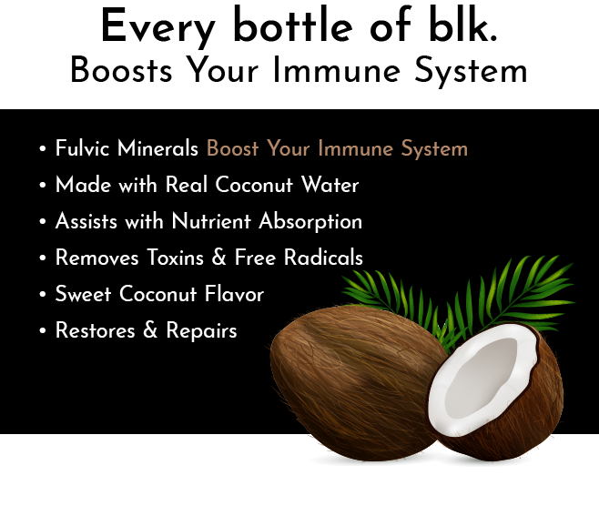 blk. Electric Coconut All Natural Alkaline Spring Water 12 Pack Boost Your Immune System Info