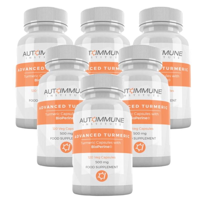 Advanced Turmeric Six Pack
