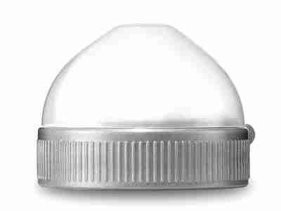 Plastic ring & cap