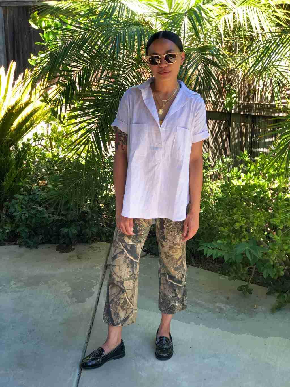 Staff Picks - Tradlands Short Sleeve Box Top Pearl
