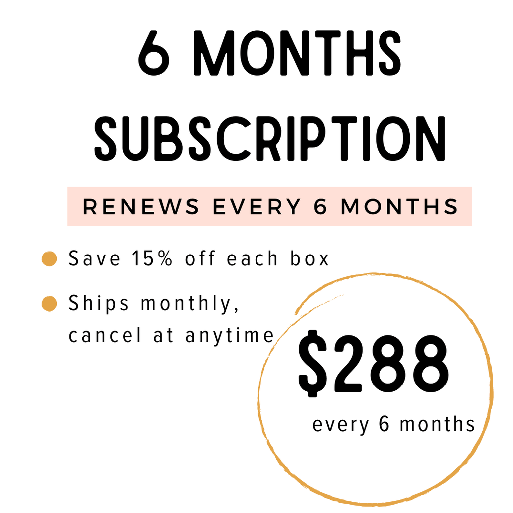 Your Monthly Kindness Kit - 6 Months Subscription