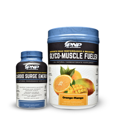 Endurance supplements and carbohydrate supplements.