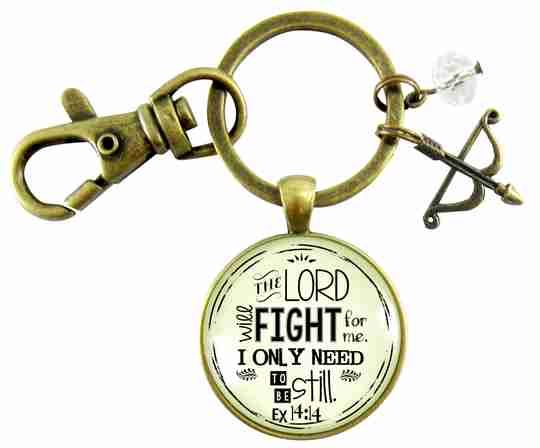 the lord will fight for me