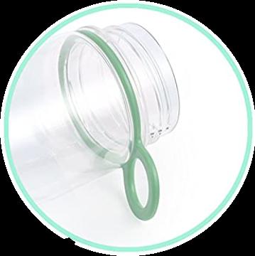 Infuser Water Bottle 25oz - Aqua Green - Carry Handle