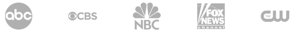 Proudly featured on ABC, CBS, NBC, FOX NEWS, THECW