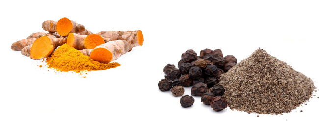 turmeric and black pepper ingredients
