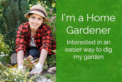 Home Gardener Range of Power Planters