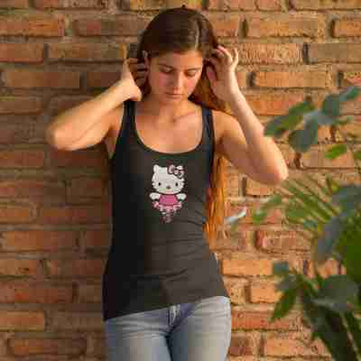 Hello Kitty Dancer Racerback Tank