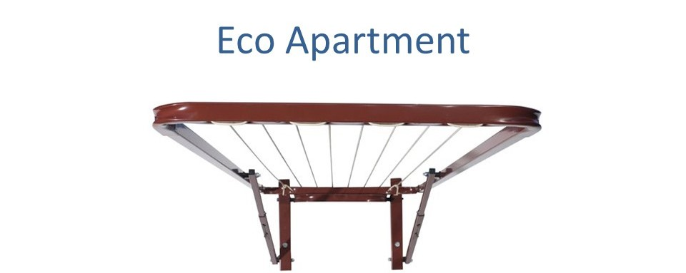 70cm clothesline Eco Apartment