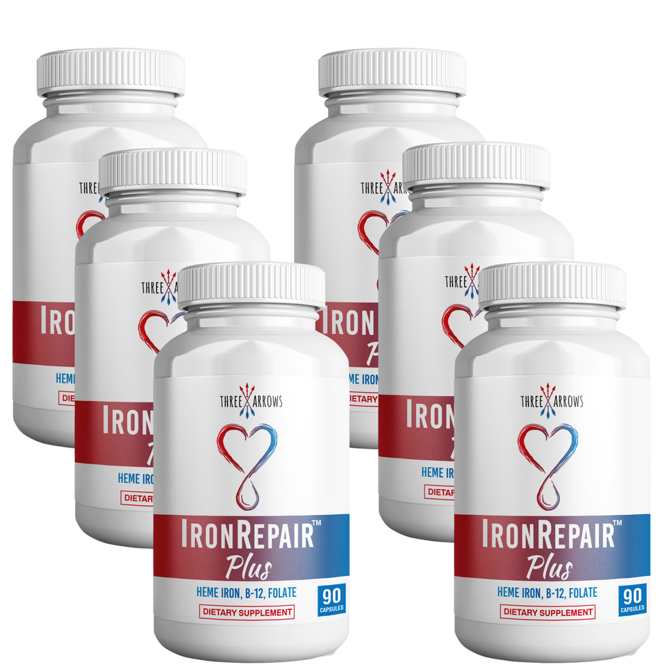 Three Arrows Iron Repair Heme Iron tablets