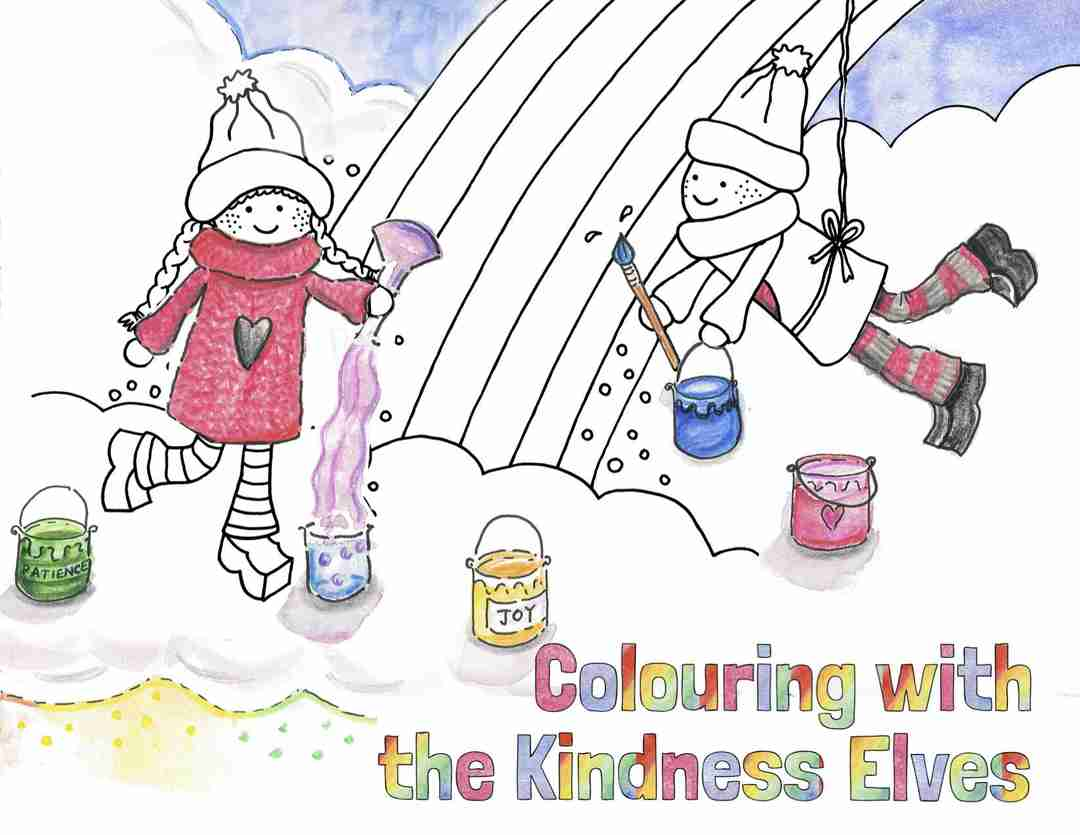Kindness Elves Colouring eBook