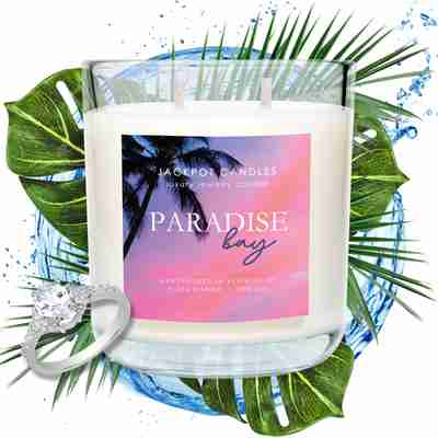 paradise bay scented candle