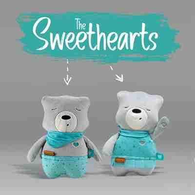 myHummy Sweethearts sleep aid for babies