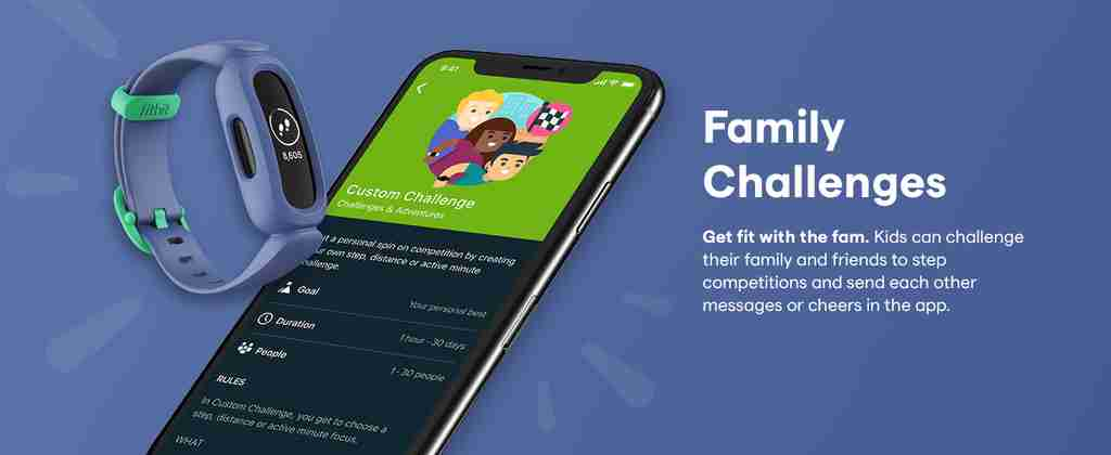 Family Challenges Fitbit App