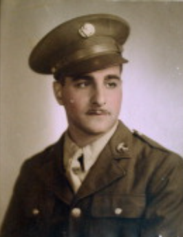 Mike Zakaib was a Sergeant in the US Army during World War II