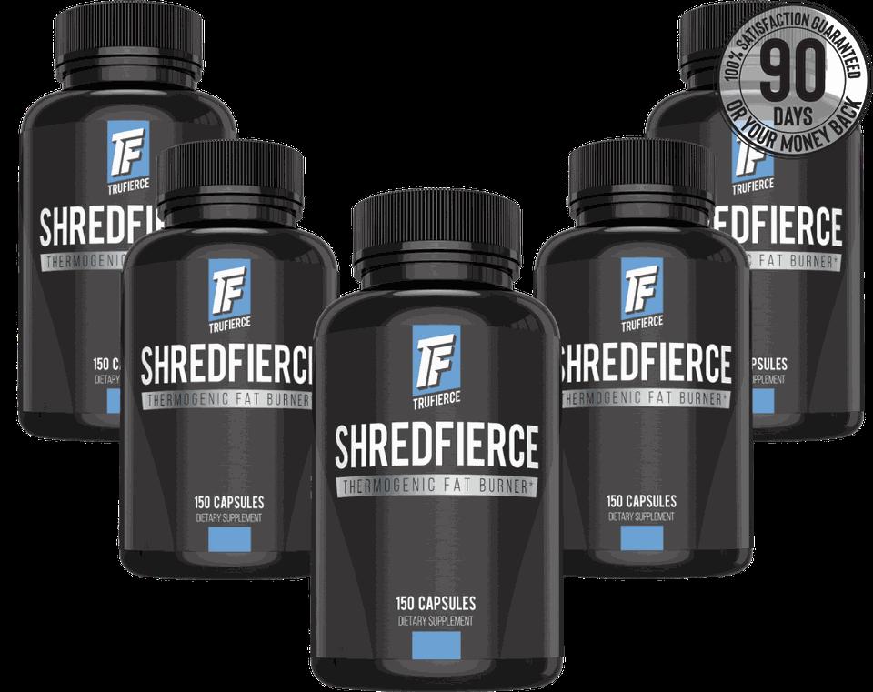 five bottle package deal shredfierce