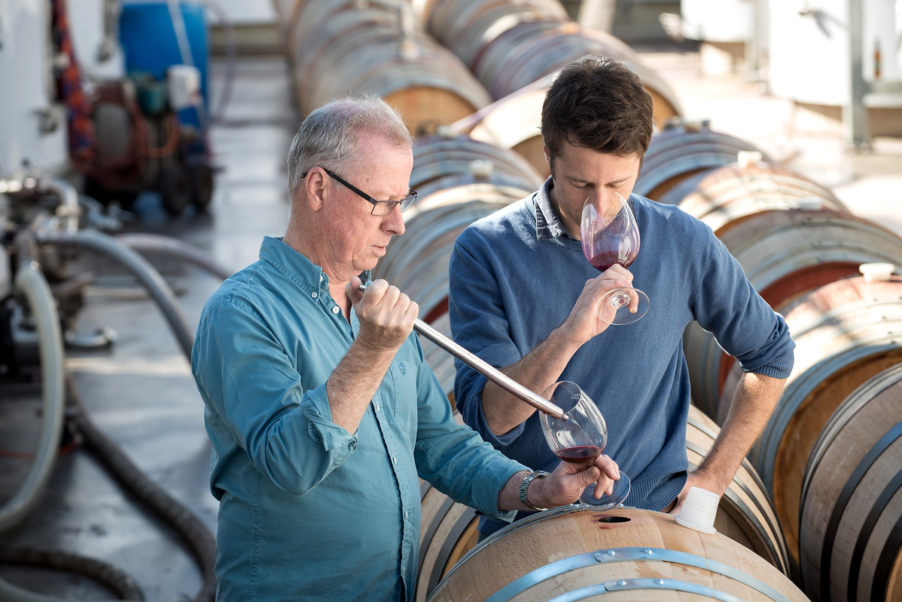 John Duval Wines with Big Hammer Wines