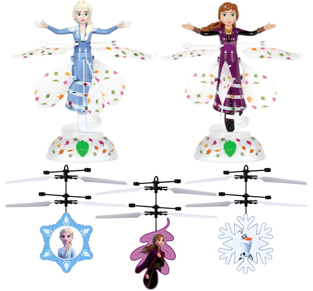 Disney Frozen II Flying Fairy & Heli Ball Bundle