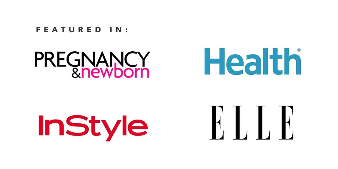 As Seen In publication logos