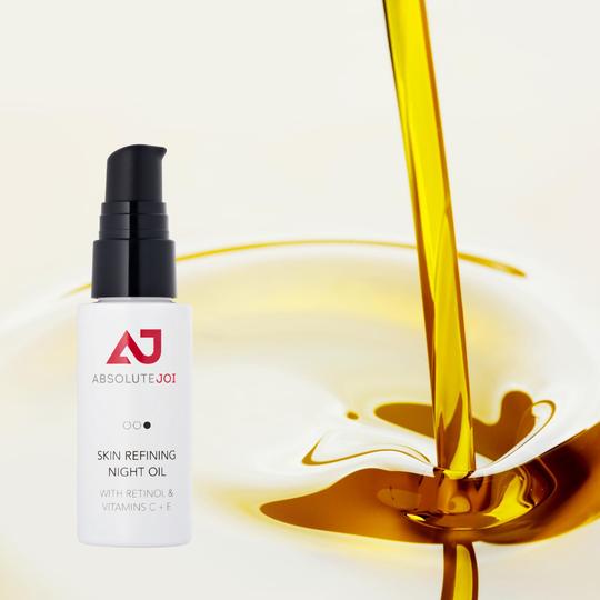 Refining Night oil with Vitamin C+E
