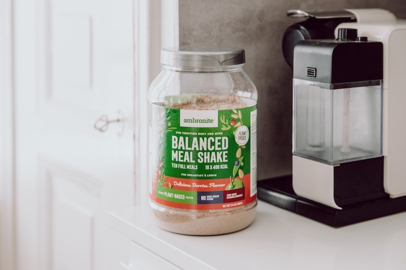 Balanced Meal Shake Berries