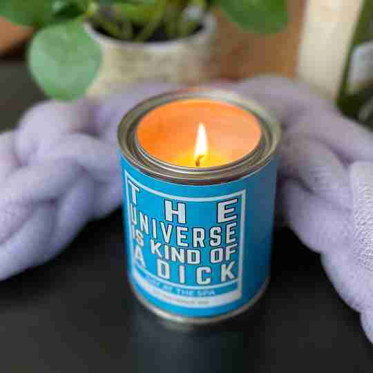 Novelty Rude candle | novelty gift | Bitches Get Shit Done | gifts for her | Energizing Citrus | Twisted Wares