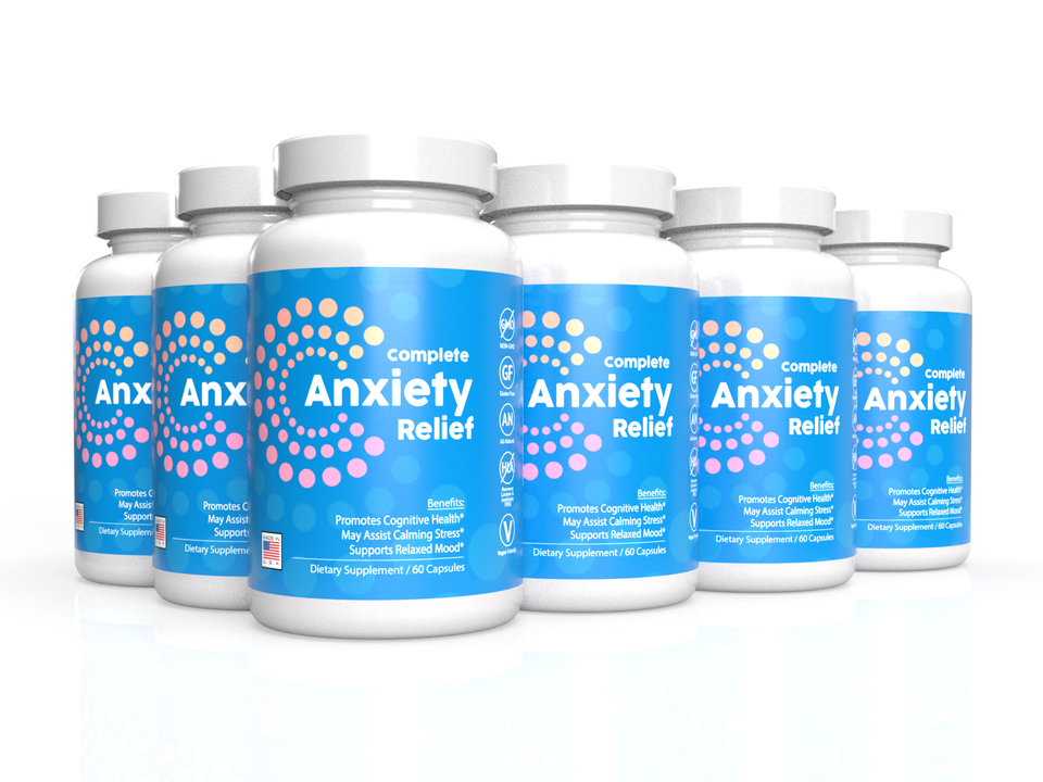 6-Pack: Complete Anti-Anxiety Formula