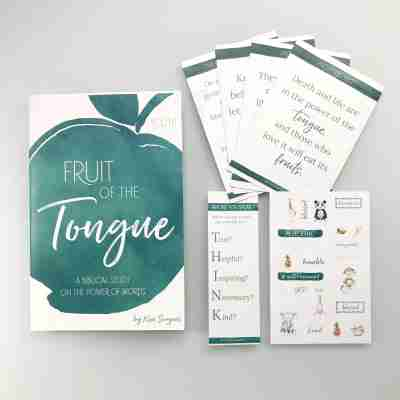Fruit of the Tongue Bible study