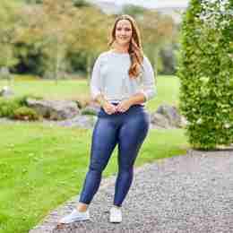 Wet Look PU Leggings - Curve(Navy)