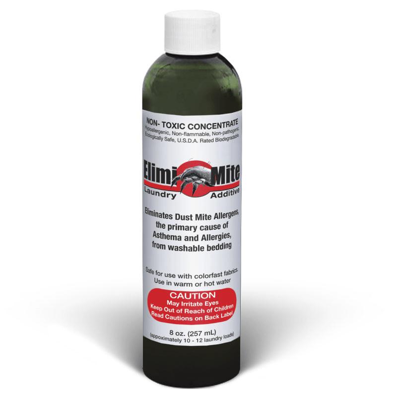 ElimiMite™ Dust Mite Laundry Additive Concentrate - 8 oz Bottle