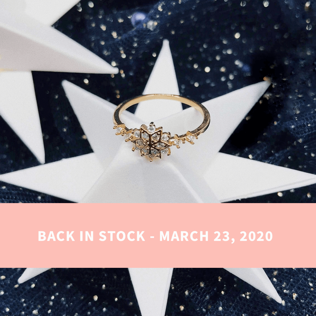 Sophia Snowflake Ring