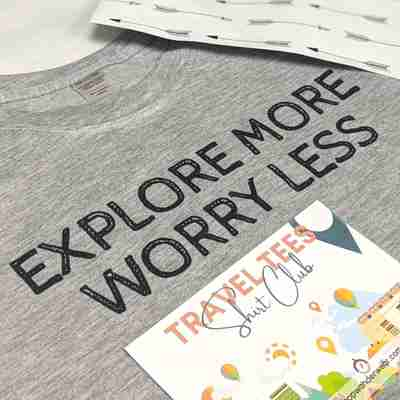 Travel Tees Shirt Club Monthly Subscription