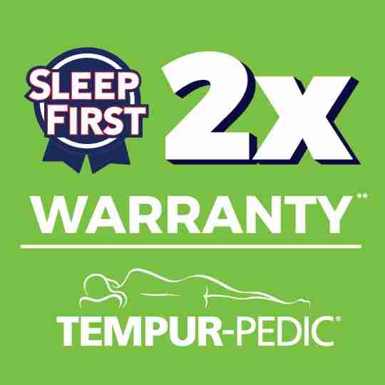 20 Year Warranty on Tempur-Pedic at Sleep First