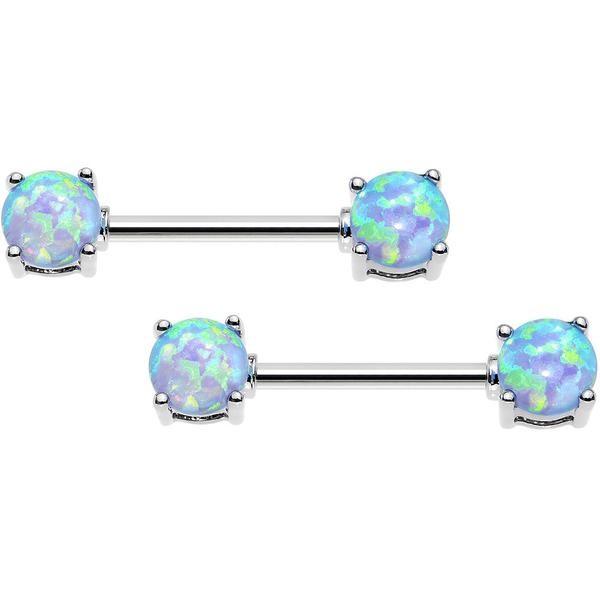 Opal Nipple Jewelry