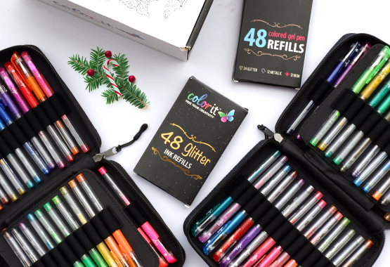 COLORIT 96 GEL PEN COMBINATION PACK