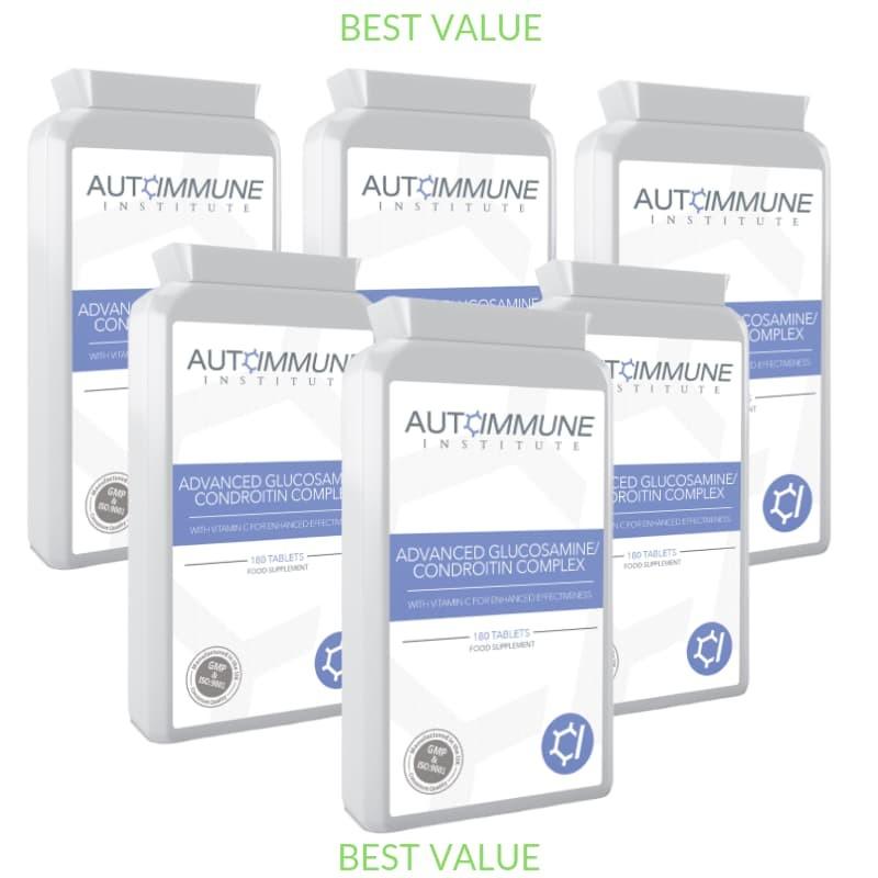 Advanced Glucosamine / Condroitin Complex Six Pack